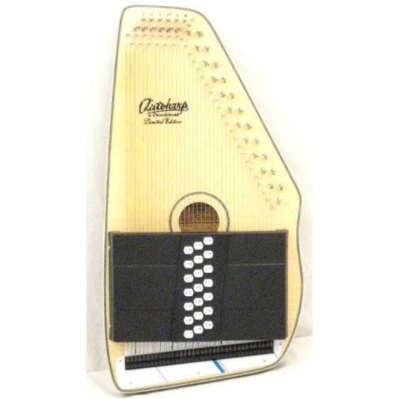 Oscar Schmidt Model OS11021FN Flame Top Natural 21 Chord Autoharp
