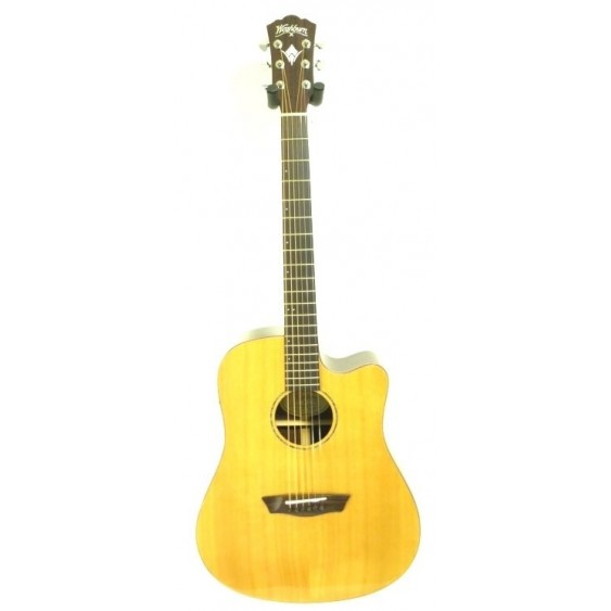 Washburn WD250SWCE Acoustic Electric Solid Wood Dreadnought Guitar - Blem #A467