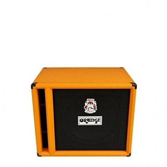 Orange OBC115 1 x 15 Bass Speaker Cabinet FREE Cover and Fender Cable BUNDLE