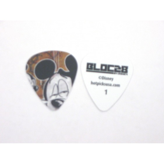 "108 Official Disney ""BLOC 28 Mickey Mouse"" Guitar Picks by Hot Picks - Style 1"
