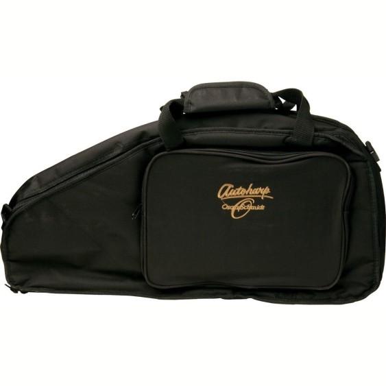 Oscar Schmidt Padded Nylon Gig Bag for your Autoharp - Model AC445 - Black