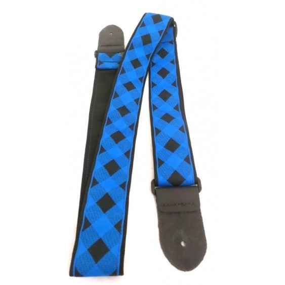 "2"" Jacquard Adjustable Guitar Strap From Perri's -  Made in Canada #TWS-CO2"