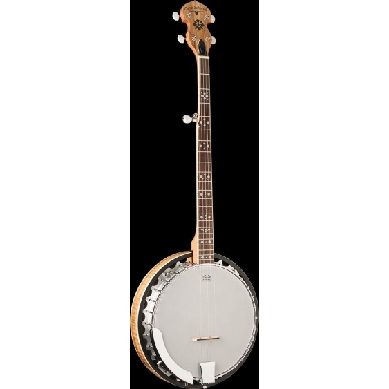 Oscar Schmidt OB5SP-O Spalted Resonator 5 String Banjo - CITES safe for Export