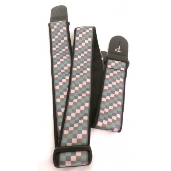 "2"" Jacquard Adjustable Guitar Strap From Perri's -  Made in Canada #TWS-CO6"