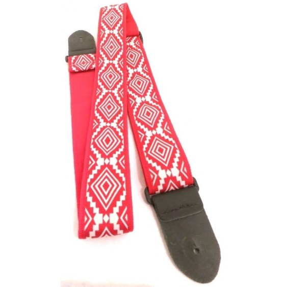 "2"" Jacquard Adjustable Guitar Strap From Perri's -  Made in Canada #TWS-CO7"