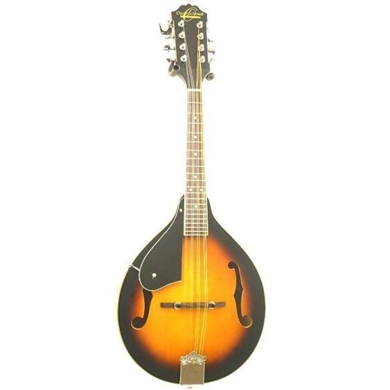 Oscar Schmidt OM10LH - Left-Handed A-Style Sunburst Acoustic Mandolin - NEW