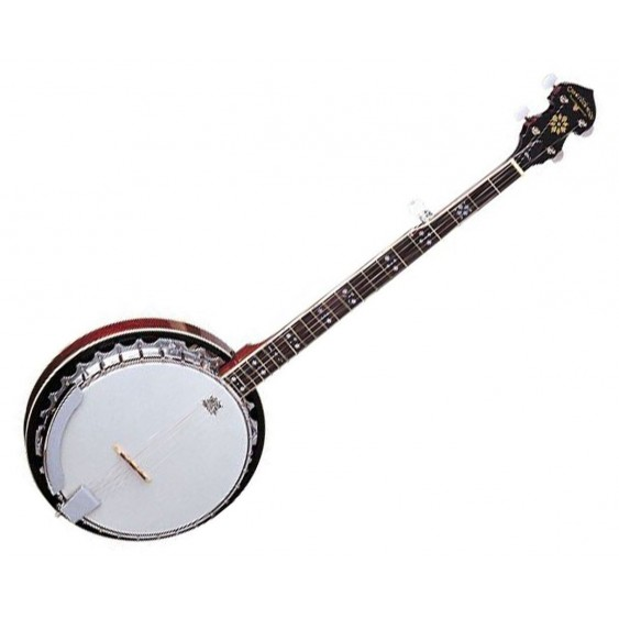 Oscar Schmidt OB5-O 5-String Banjo with Ovangkol Fretboard - Safe for Export !