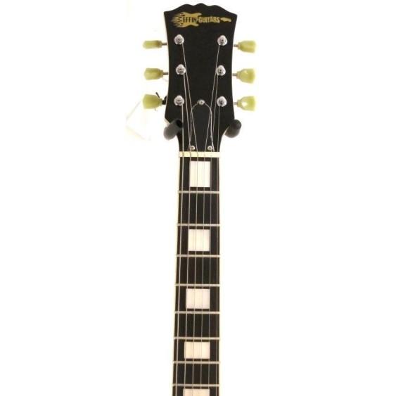 2016 Effin Guitars OldLess/HB Deluxe Honeyburst Electric Guitar w/Strings + More