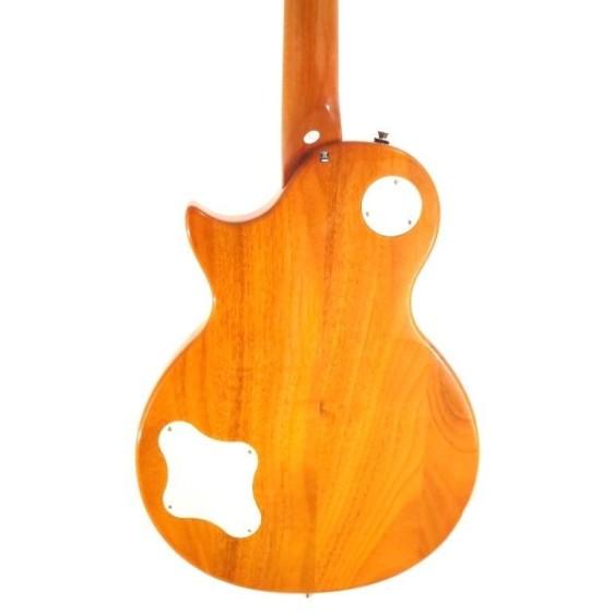 2016 Effin Guitars OldLess/HB Deluxe Honeyburst Electric Guitar w/Picks + More