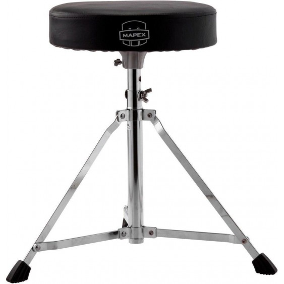Mapex Storm Chrome Round Top Drum Throne MODEL # T400 - For Drummers to sit on