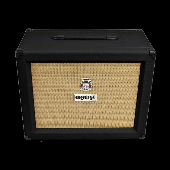 Orange Model PPC112 BK 60 Watt Black 1x12 Electric Guitar Speaker Cabinet