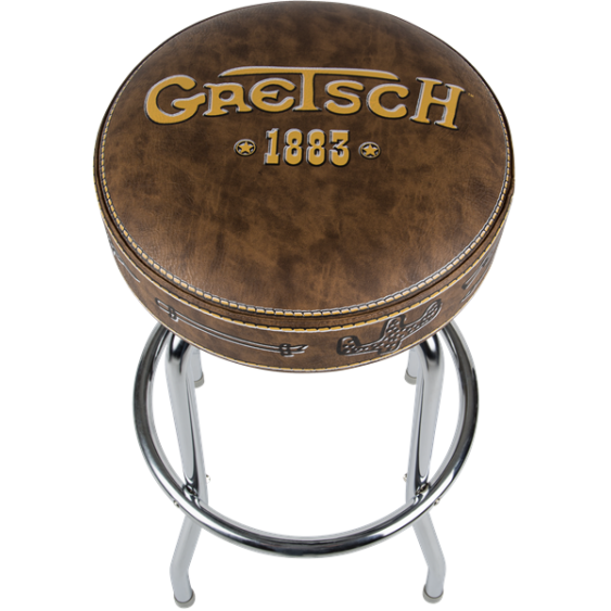 "Gretsch Guitar or Drum 1883 24"" Deluxe Bar Stool #9124756020 a Great Bar Stool"