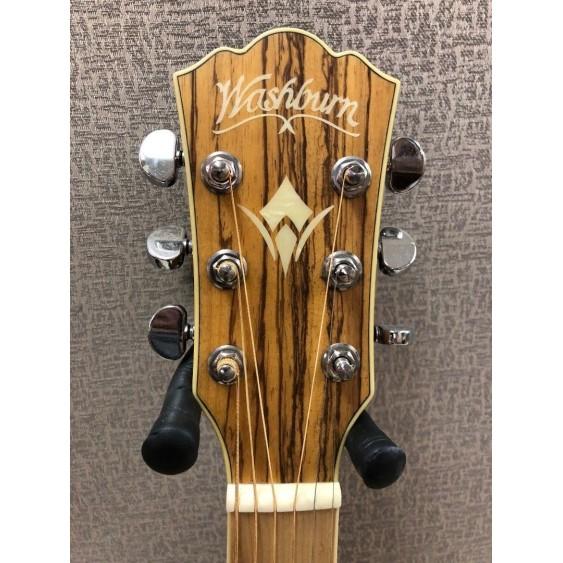 Washburn WCSD30SK Solid Top Woodcraft Zebrawood Acoustic Guitar - Blem #KM1