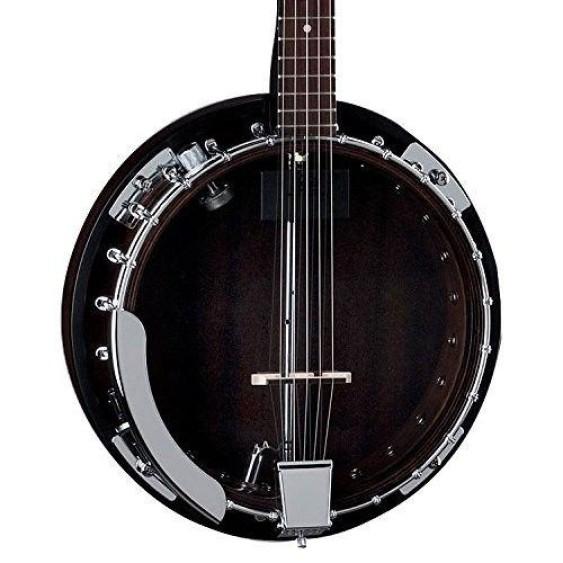 Dean Backwoods 2 Acoustic Electric 5-String Mahogany Banjo Model BW2E