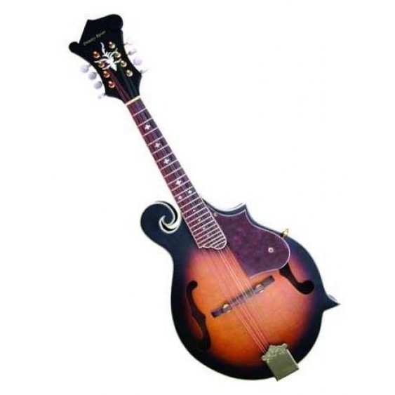 Trinity River FM4AS Florentine F-Style Acoustic Carved Solid Top Mandolin