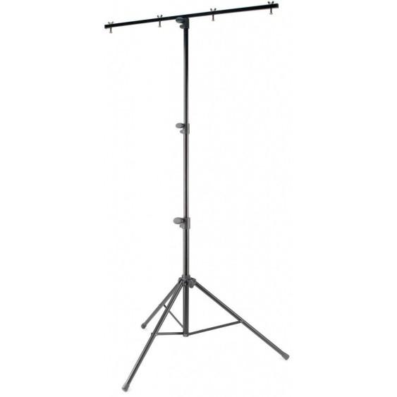 Stagg Single Tier Tripod Medium Heavy Lighting Stand 44 lbs Capacity LIS-A1022BK
