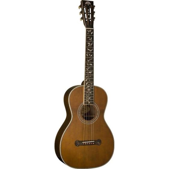 Washburn R320SWRK Revival Series Parlor Size Acoustic Guitar w/Case - B1 Blem