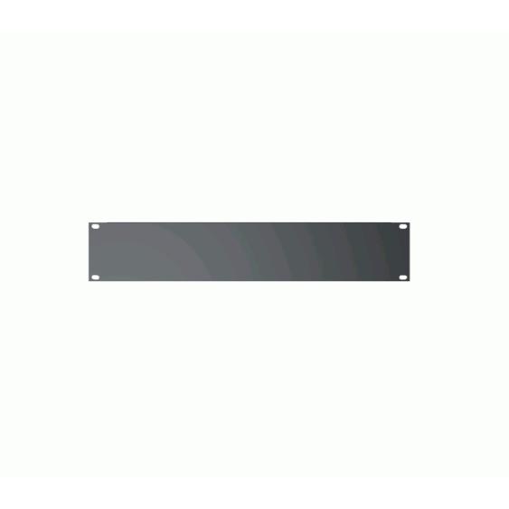Quik Lok Model RS-242 2-Space Blank Rack Unit Filler Panel