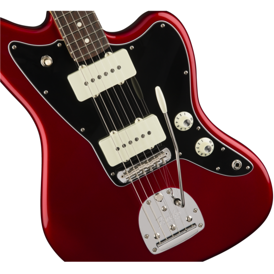 Fender American Professional Jazzmaster in Candy Apple Red w/Elite Molded Case