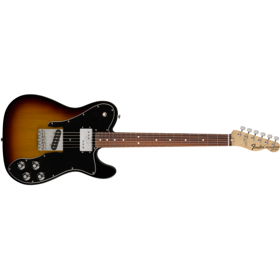 Fender Classic Series '72 Telecaster Custom 3 Color Sunburst with Deluxe Gig Bag