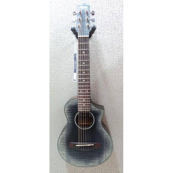 Ibanez EWP32FM Piccolo 1/3 Mini Acoustic Guitar Glacier Black Burst - #MF22