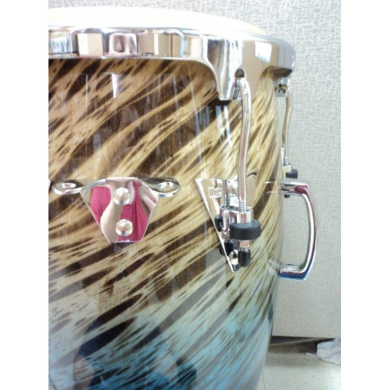 LP Performer Series Conga with Chrome Hardware Blue Fade 11.75 Inches - #MF36