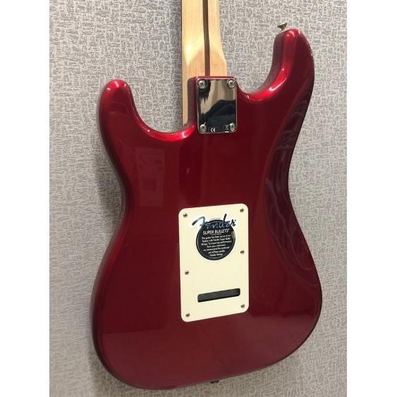 2006 Fender 60th Anniversary Standard Stratocaster HSS Chrome Red w/Case - MIM