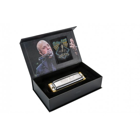 Hohner Billy Joel Signature Diatonic Harmonica and Display Case - Key of C