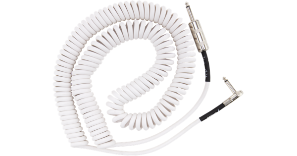Jimi Hendrix Voodoo Child 30 Foot White Coiled Instrument