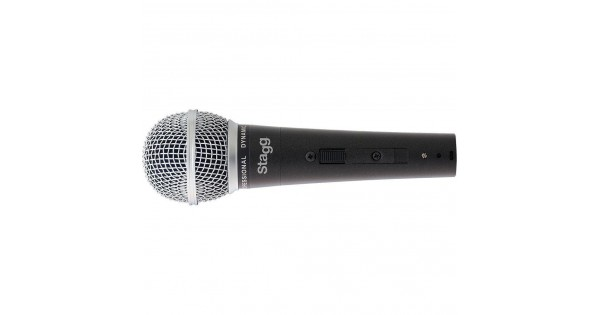 Stagg SDM50-3 Cardioid Dynamic Live Vocal Instrument Microphone Mic 3-Pack