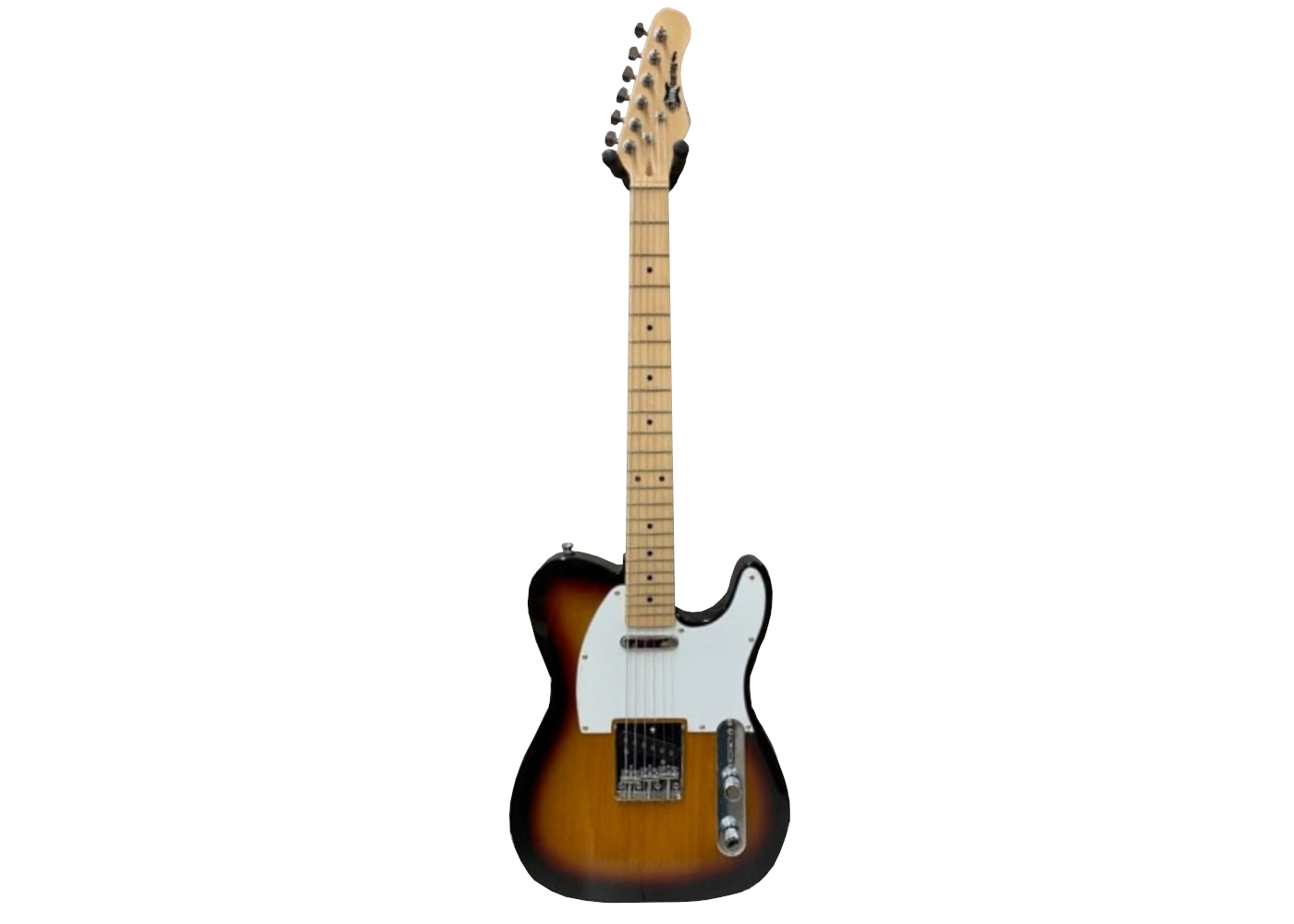 Effin Guitars Smelly//SB-M T-Style Sunburst Maple Board Deluxe Electric Guitar