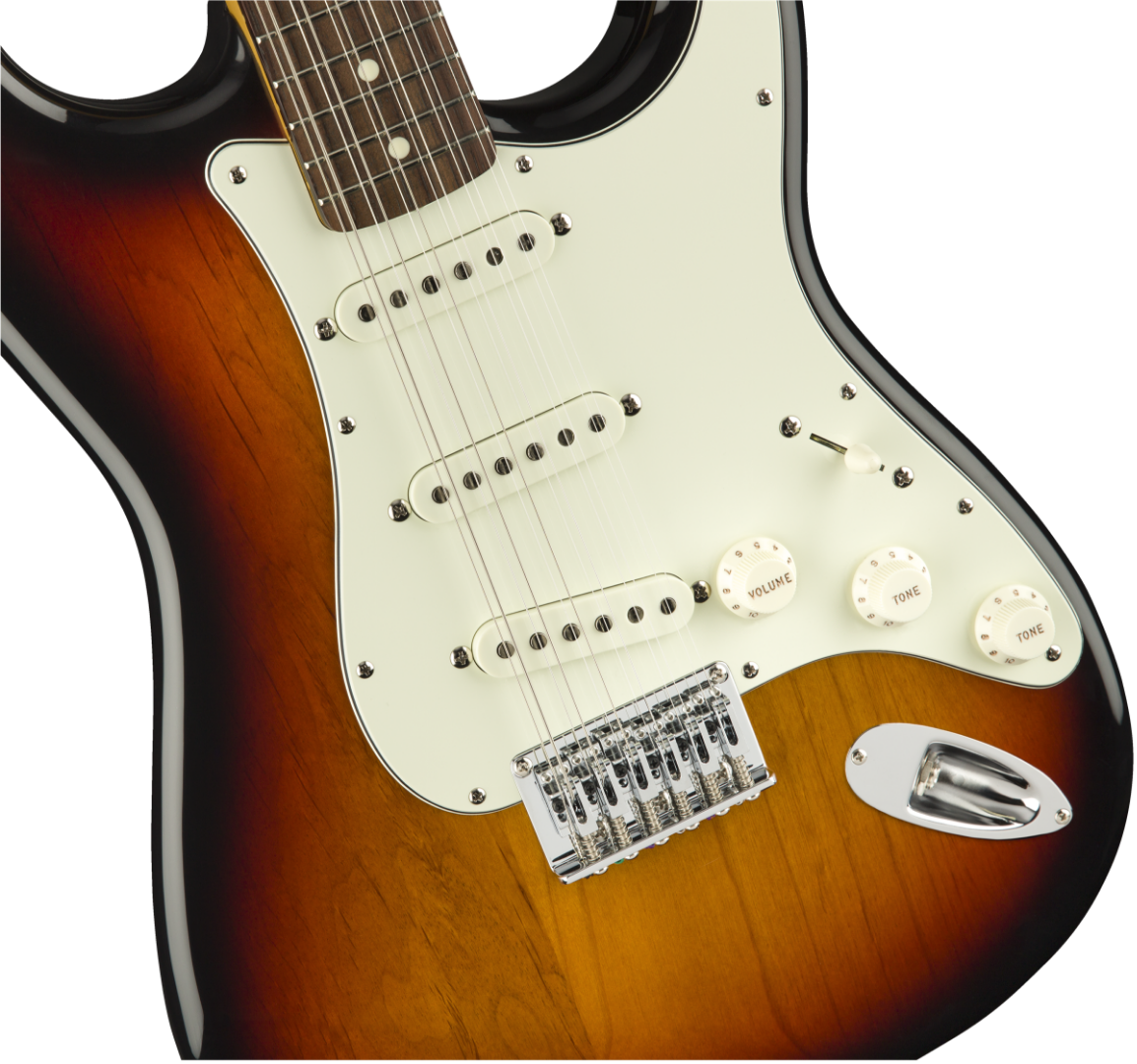 fender limited 12 string japanese stratocaster xii electric guitar in sunburst ebay. Black Bedroom Furniture Sets. Home Design Ideas