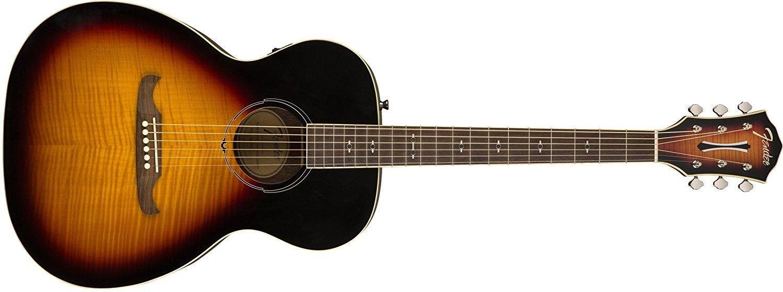 Fender FA-235E Concert Size Acoustic Electric Guitar in 3 Tone Sunburst Finish