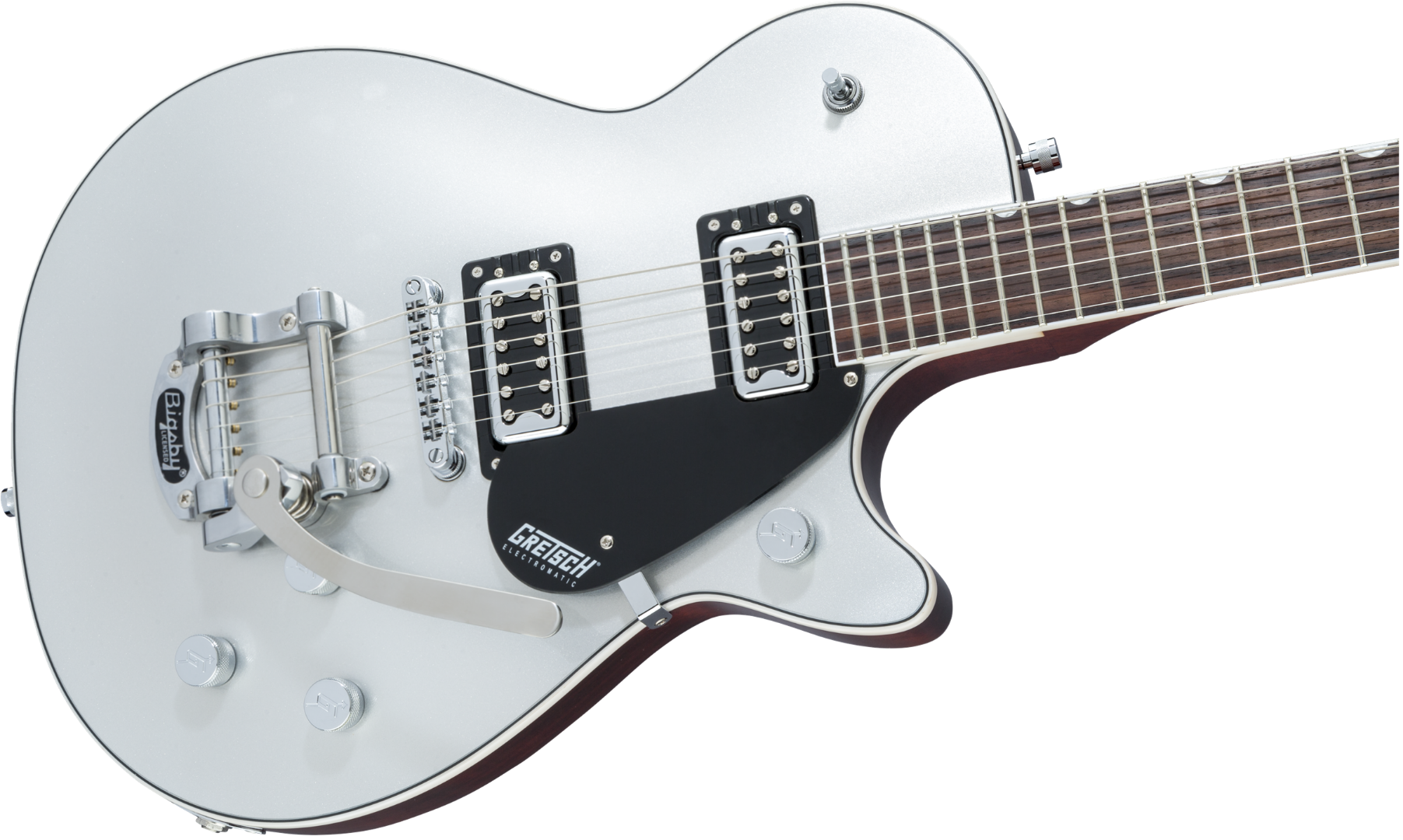gretsch g5230t electromatic jet ft airline silver electric guitar with bigsby ebay. Black Bedroom Furniture Sets. Home Design Ideas