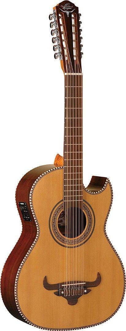 Guitars & Basses Oscar Schmidt Oh22se Thinline Superior Sólido Bajo Quinto Natural Latina Attractive Designs;