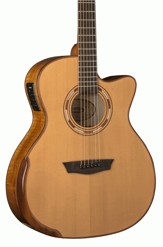 Washburn Wcg66sce-o Comfort Series Solid Cedar Top Acoustic Electric Guitar-blem To Have Both The Quality Of Tenacity And Hardness Acoustic Electric Guitars