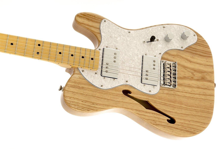 fender squier vintage modified 72 tele thinline natural finish electric guitar ebay. Black Bedroom Furniture Sets. Home Design Ideas