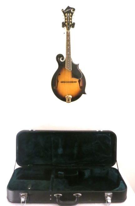 WASHBURN M3SWK SOLID Top, Back, and Sides F-Style Mandolin w/Case - Blem