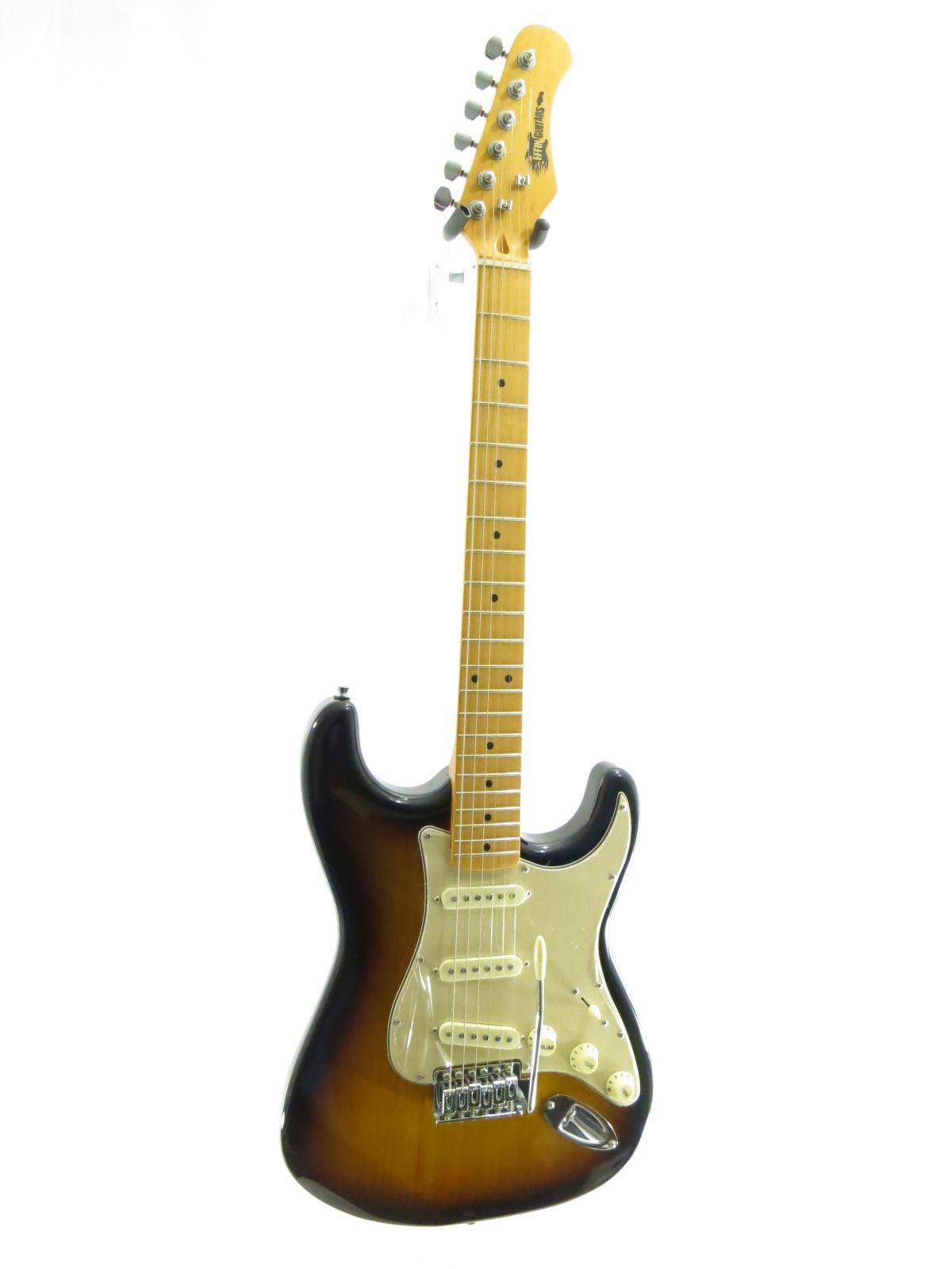 Effin Guitars Smelly//SB Gloss Sunburst Finish T-Style Electric solid body Guitar